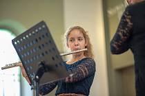 Benefiční harfový koncert pro Denní centrum Barevný svět.