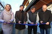 Slavnostní otevření a představení nových sociálních bytů v Hrotovicích.