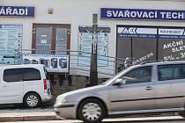 Kříž na ulici Pražská v Třebíči.