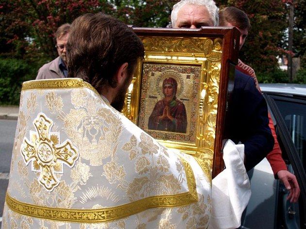 Plačící ikona byla k vidění v Třebíči