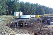 Větrná elektrárna nyní vyrůstá u Tulešic na Znojemsku.