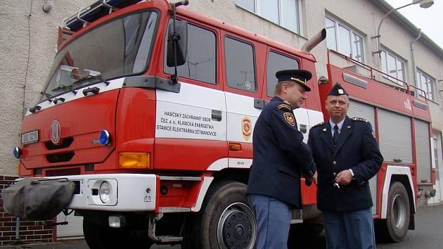 Vozidlo bude sloužit na Hrotovicku, kam se přesune v nejbližších dnech.