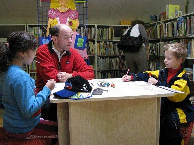 Dnem pro celou rodinu odstartovala městská knihovna v Třebíči Týden knihoven.