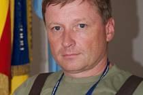 Zástupce velitele základny Josef Pospíšil.