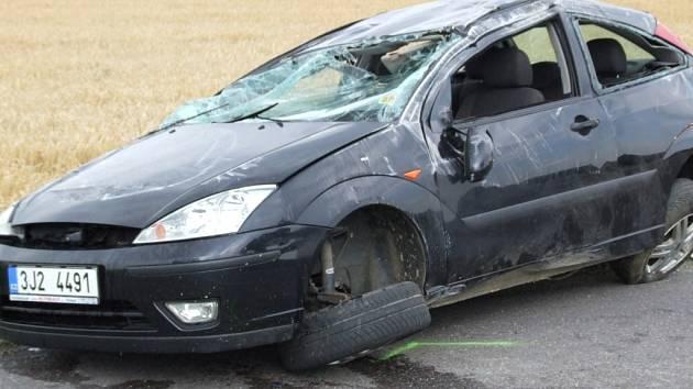 Nehoda u Krahulova.