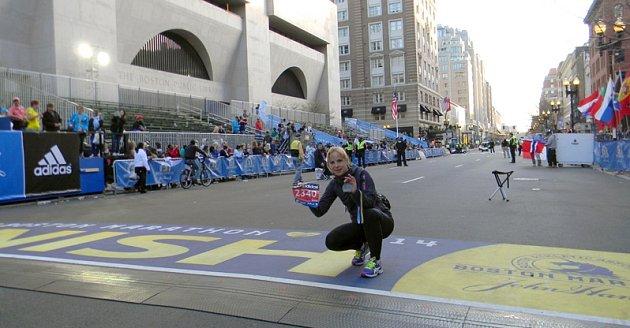 BOSTONSKÝ MARATON. Patrícia Gánovská se do cíle nejstaršího světového maratonu dostala včase 3:08:24 a mezi ženami obsadila třístou příčku.