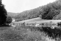 Údolí řeky Jihlavky u Loupalova mlýna