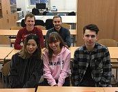Výuku na Gymnáziu v Třebíči zpestřili studenti z osmi zemí světa.