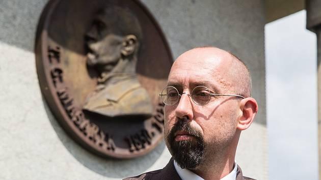 Tomáš Garrigue Masaryk se vrací do Třebíče, žáky má přimět k zamyšlení