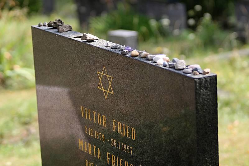 Židovský hřbitov v Třebíči.