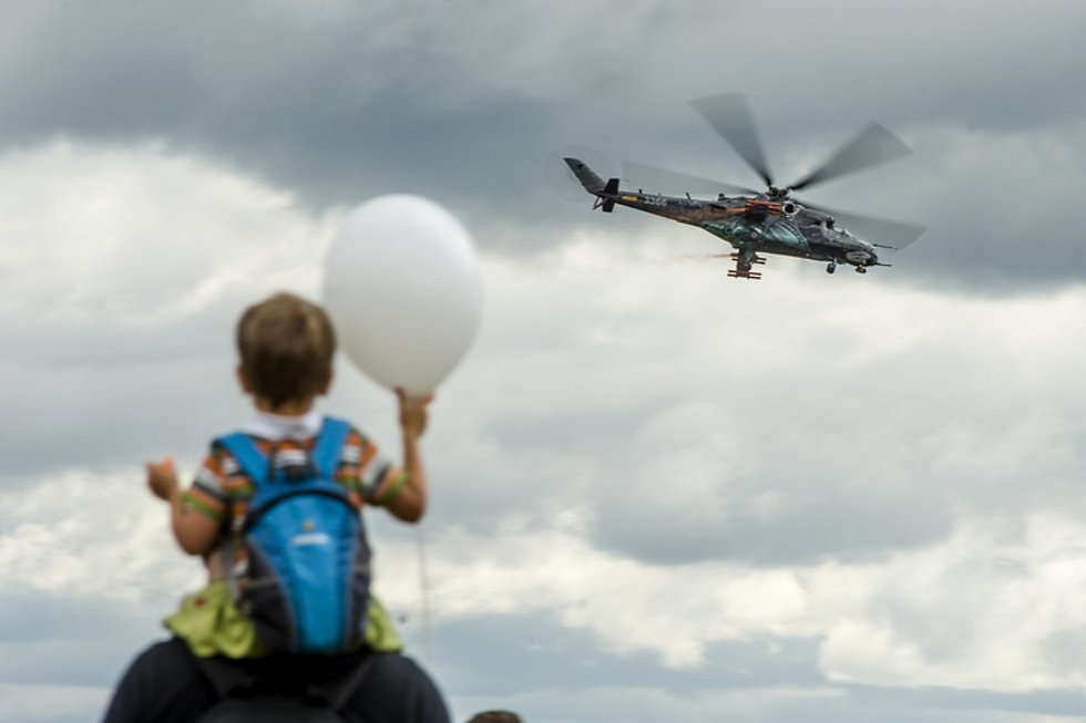Vrtulník Mi-24/35 Hind