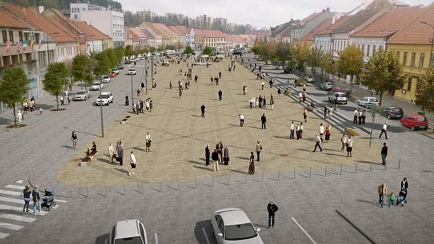 Proměna Karlova náměstí začíná. Na jejím konci bude i sprcha pro úředníky