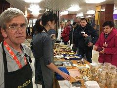 S dobrou náladou přijeli do elektrárny pracovníci a klienti kavárny Pohodička Náměšť nad Oslavou.