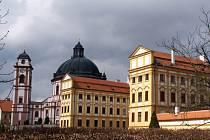 Zámek v Jaroměřicích nad Rokytnou.