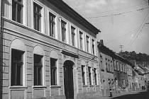 Historická fotografie domu číslo 15.