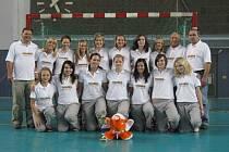 PÁTÉ MÍSTO. Starší dorostenky Spartaku na berlínském turnaji obsadily konečné páté místo.