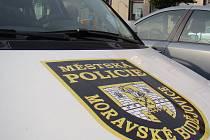 Městská policie v Moravských Budějovicích. Ilustrační foto.
