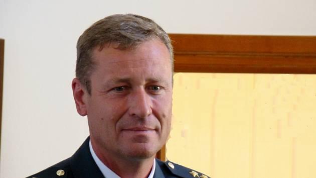 Nový velitel základny Jiří Vávra.