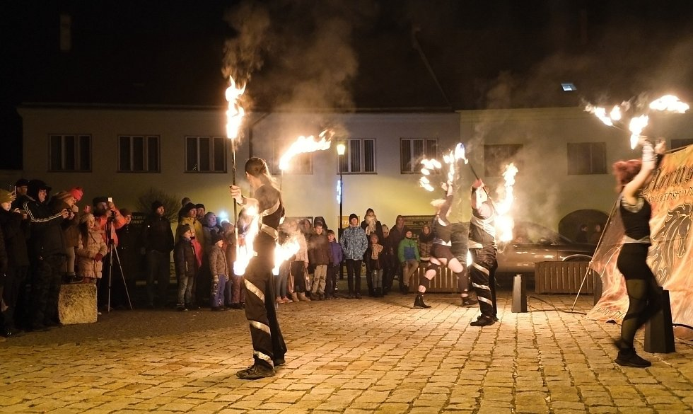 Pátý prosinec v Jaroměřicích nad Rokytnou.