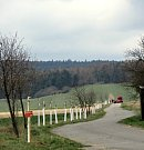 Výsadba ovocných stromů v Chlístově.