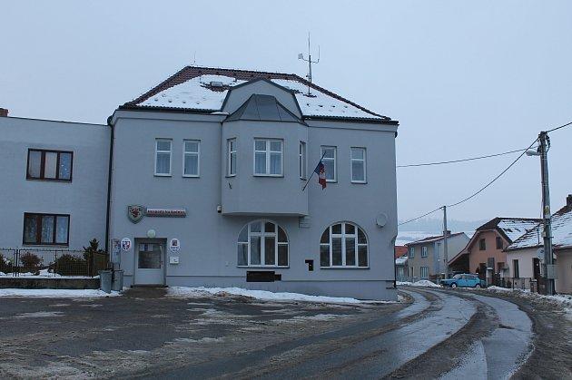 Radnice v Přibyslavicích.
