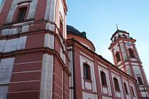 Chrám svaté Markéty v Jaroměřicích nad Rokytnou.