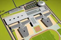 Tak by měla vypadat soukromá věznice u Rapotic. Projekt by měl být největším u nás realizovaným záměrem svého druhu. Privátní firma jej zaplatí, postaví a stát využije a postupně splatí.