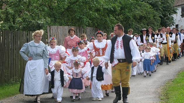 Tradiční průvod obcí začne v neděli.