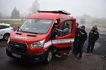 Dobrovolní hasiči z Myslibořic mají nový dopravní automobil.
