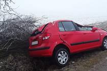 Nehoda u Mohelna.