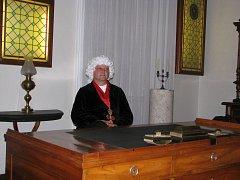 Návštěvníci mohli při večerních kostýmovaných prohlídkách potkat řadu osobností spojených s Moravskými Budějovicemi.