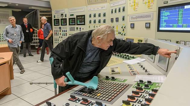 Splněné vánoční přání pana Václava. Odstavil Jadernou elektrárnu Dukovany