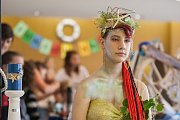 Devatenáctý ročník přehlídky škol Junior show pořádala v Pasáži Obchodní akademie a Hotelová škola Třebíč.