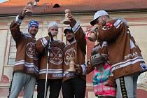 Hráči týmu Captains z Náměšti nad Oslavou slavili titul.