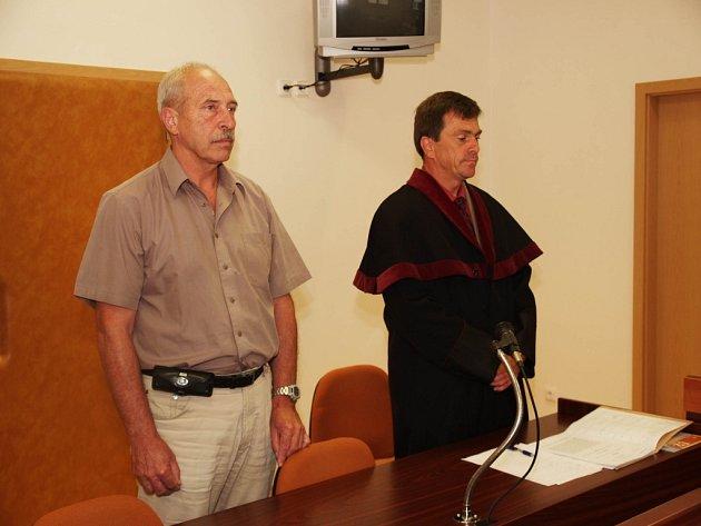 Soudce Vilém Machálek vynesl rozsudek.