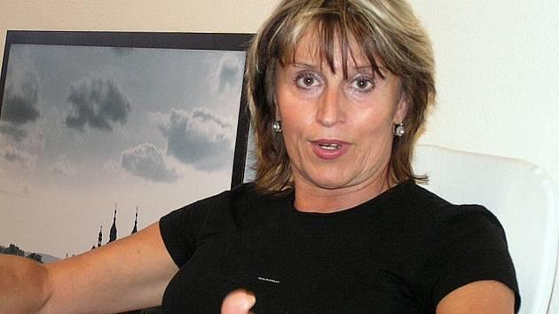 Ředitelka Městského kulturního střediska v Třebíči Hana Štěpničková.