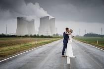 První česko-americká svatba v Dukovanech.