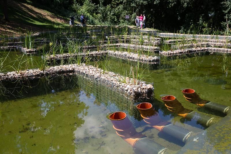 V Jemnici funguje koupaliště, které funguje na principu biotopu.
