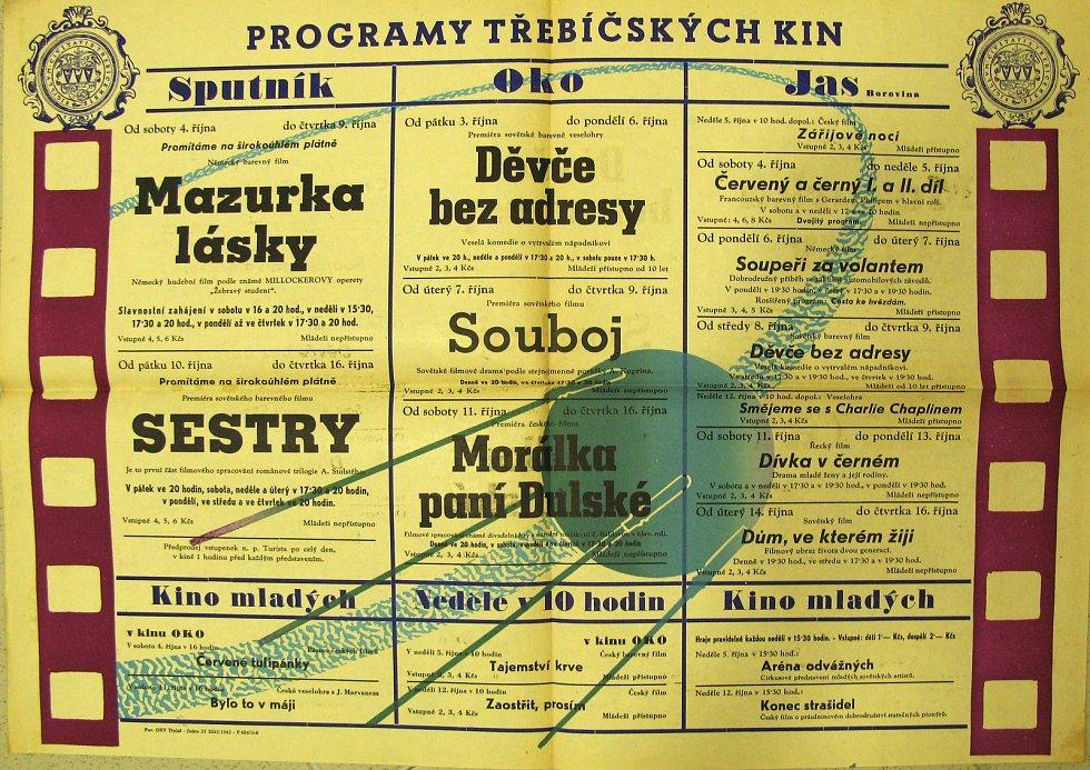 Kino několikrát změnilo svůj název třicátých letech koupil kino Sokol a přejmenoval jej na Stadion. Na podzim roku 1948 se začalo jmenovat kino Svět. Své jméno opět změní za deset let po rozsáhlé rekonstrukci v roce 1958 na kino Sputnik. K původnímu názvu
