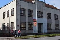 Areál školy v Moravských Budějovicích.