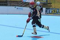 Hokejbalisté Okříšek v sobotu vstoupí do nového ročníku druhé ligy.