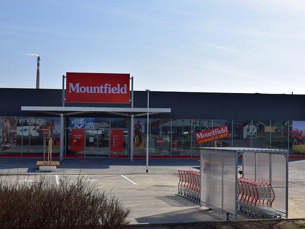 Nová prodejna Mountfield v Třebíči.