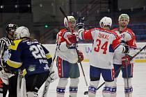 Třebíčští hokejisté zvládli i odvetu. Po lednové výhře 8:2 v Šumperku porazili draky 5:1 i doma.