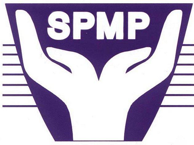 Logo Sdružení pro pomoc mentálně postiženým.
