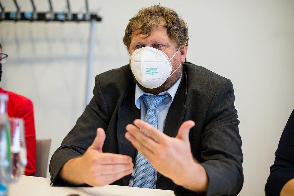 Předvolební debata Deníku Vysočina - Petr Chňoupek (lídr MZH).