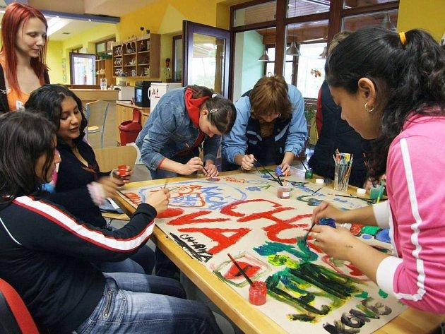 Pro děti byl připraven program v podobě soutěží.