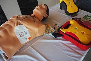 Automatické defibrilátory.