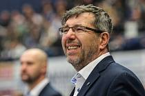 Trenér Třebíče Kamil Pokorný.