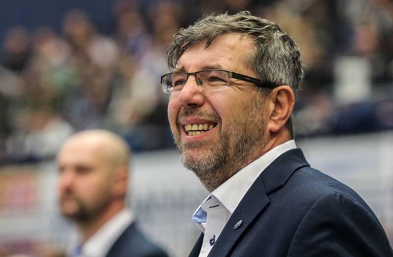 Staronový trenér Horácké Slavie Třebíče Kamil Pokorný.