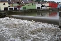 Řeka Jihlava. Ilustrační foto.